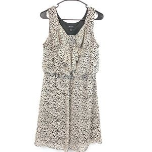 AB Studio Animal Print Sleeveless Sheath Size L
